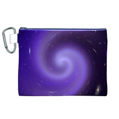 Spiral Lighting Color Nuances Canvas Cosmetic Bag (xl)