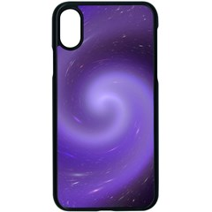 Spiral Lighting Color Nuances Apple Iphone X Seamless Case (black)