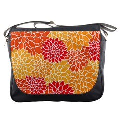 Abstract Art Background Colorful Messenger Bags