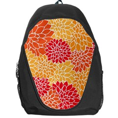 Abstract Art Background Colorful Backpack Bag