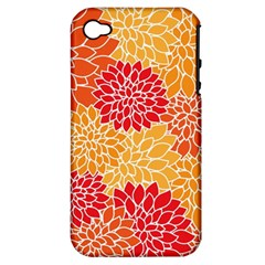 Abstract Art Background Colorful Apple Iphone 4/4s Hardshell Case (pc+silicone)