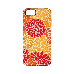 Abstract Art Background Colorful Apple Iphone 5 Classic Hardshell Case (pc+silicone)