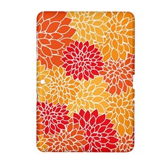Abstract Art Background Colorful Samsung Galaxy Tab 2 (10 1 ) P5100 Hardshell Case