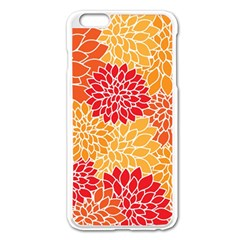 Abstract Art Background Colorful Apple Iphone 6 Plus/6s Plus Enamel White Case
