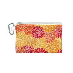 Abstract Art Background Colorful Canvas Cosmetic Bag (s)