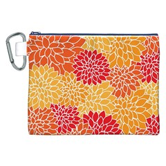 Abstract Art Background Colorful Canvas Cosmetic Bag (xxl)