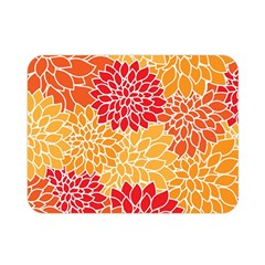 Abstract Art Background Colorful Double Sided Flano Blanket (mini)