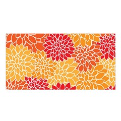 Abstract Art Background Colorful Satin Shawl