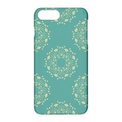 Floral Vintage Royal Frame Pattern Apple Iphone 8 Plus Hardshell Case