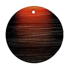 Background Red Orange Modern Ornament (round)