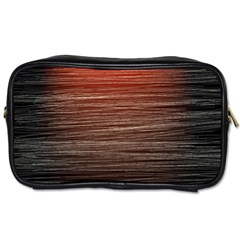 Background Red Orange Modern Toiletries Bags