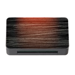 Background Red Orange Modern Memory Card Reader With Cf