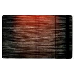 Background Red Orange Modern Apple Ipad 2 Flip Case