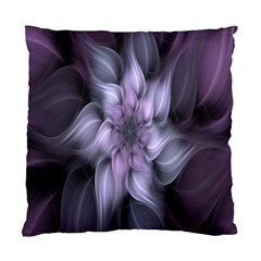 Fractal Flower Lavender Art Standard Cushion Case (two Sides)
