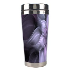 Fractal Flower Lavender Art Stainless Steel Travel Tumblers