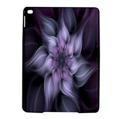 Fractal Flower Lavender Art Ipad Air 2 Hardshell Cases
