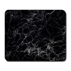 Black Texture Background Stone Large Mousepads