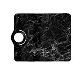 Black Texture Background Stone Kindle Fire Hdx 8 9  Flip 360 Case