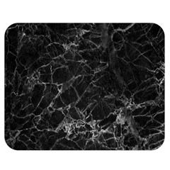 Black Texture Background Stone Double Sided Flano Blanket (medium)