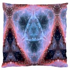 Sacred Geometry Mandelbrot Fractal Large Flano Cushion Case (one Side)