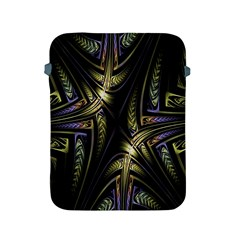 Fractal Braids Texture Pattern Apple Ipad 2/3/4 Protective Soft Cases