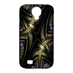 Fractal Braids Texture Pattern Samsung Galaxy S4 Classic Hardshell Case (pc+silicone)