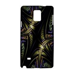 Fractal Braids Texture Pattern Samsung Galaxy Note 4 Hardshell Case