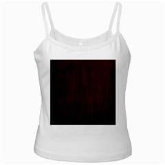 Grunge Brown Abstract Texture Ladies Camisoles