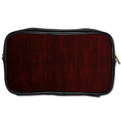 Grunge Brown Abstract Texture Toiletries Bags