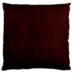 Grunge Brown Abstract Texture Large Cushion Case (two Sides)