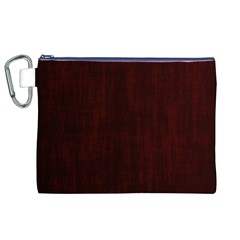 Grunge Brown Abstract Texture Canvas Cosmetic Bag (xl)