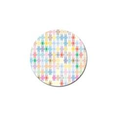 Background Wallpaper Spirals Twirls Golf Ball Marker