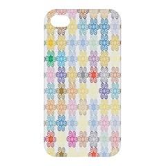 Background Wallpaper Spirals Twirls Apple Iphone 4/4s Premium Hardshell Case
