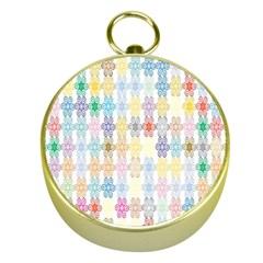 Background Wallpaper Spirals Twirls Gold Compasses