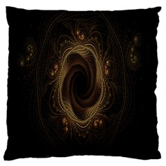 Beads Fractal Abstract Pattern Large Cushion Case (one Side)