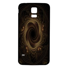 Beads Fractal Abstract Pattern Samsung Galaxy S5 Back Case (white)