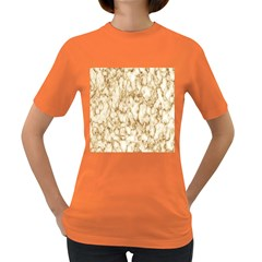 Abstract Art Backdrop Background Women s Dark T Shirt