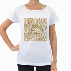 Abstract Art Backdrop Background Women s Loose Fit T Shirt (white)
