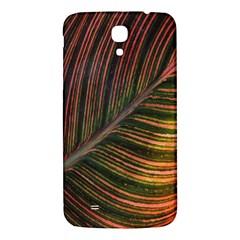 Leaf Colorful Nature Orange Season Samsung Galaxy Mega I9200 Hardshell Back Case