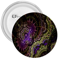 Abstract Fractal Art Design 3  Buttons