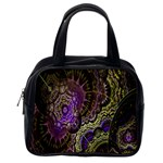 Abstract Fractal Art Design Classic Handbags (2 Sides) Back