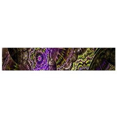 Abstract Fractal Art Design Small Flano Scarf