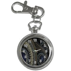 Fractal Spikes Gears Abstract Key Chain Watches