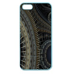 Fractal Spikes Gears Abstract Apple Seamless Iphone 5 Case (color)