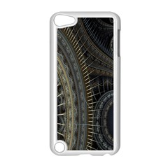 Fractal Spikes Gears Abstract Apple Ipod Touch 5 Case (white)