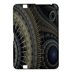 Fractal Spikes Gears Abstract Kindle Fire Hd 8 9