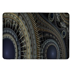Fractal Spikes Gears Abstract Samsung Galaxy Tab 8 9  P7300 Flip Case
