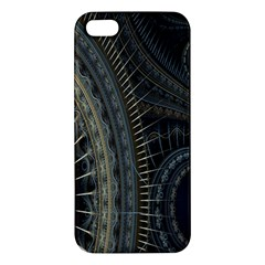Fractal Spikes Gears Abstract Iphone 5s/ Se Premium Hardshell Case