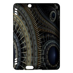 Fractal Spikes Gears Abstract Kindle Fire Hdx Hardshell Case