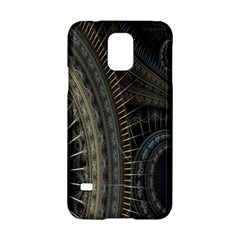 Fractal Spikes Gears Abstract Samsung Galaxy S5 Hardshell Case